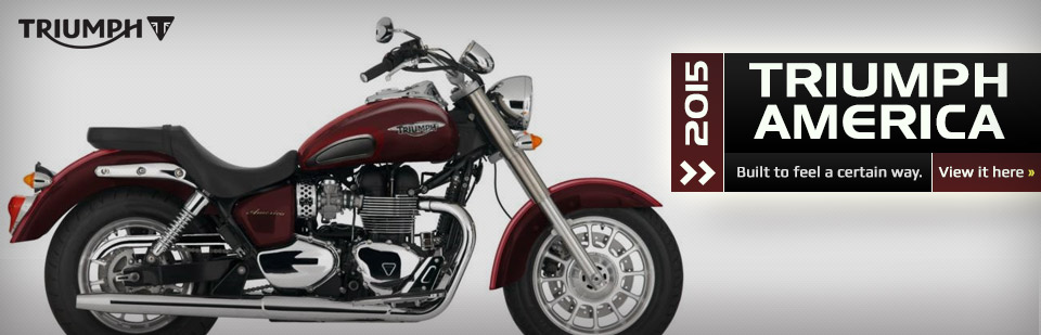 2015 Triumph America: Click here for details.