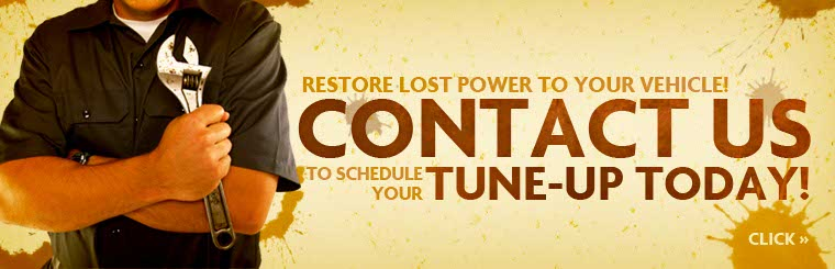 Restore lost power to your vehicle! Contact us to schedule your tune-up today.