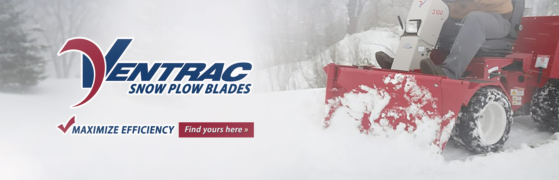 Ventrac Snow Plow Blades: Click here to view the models.