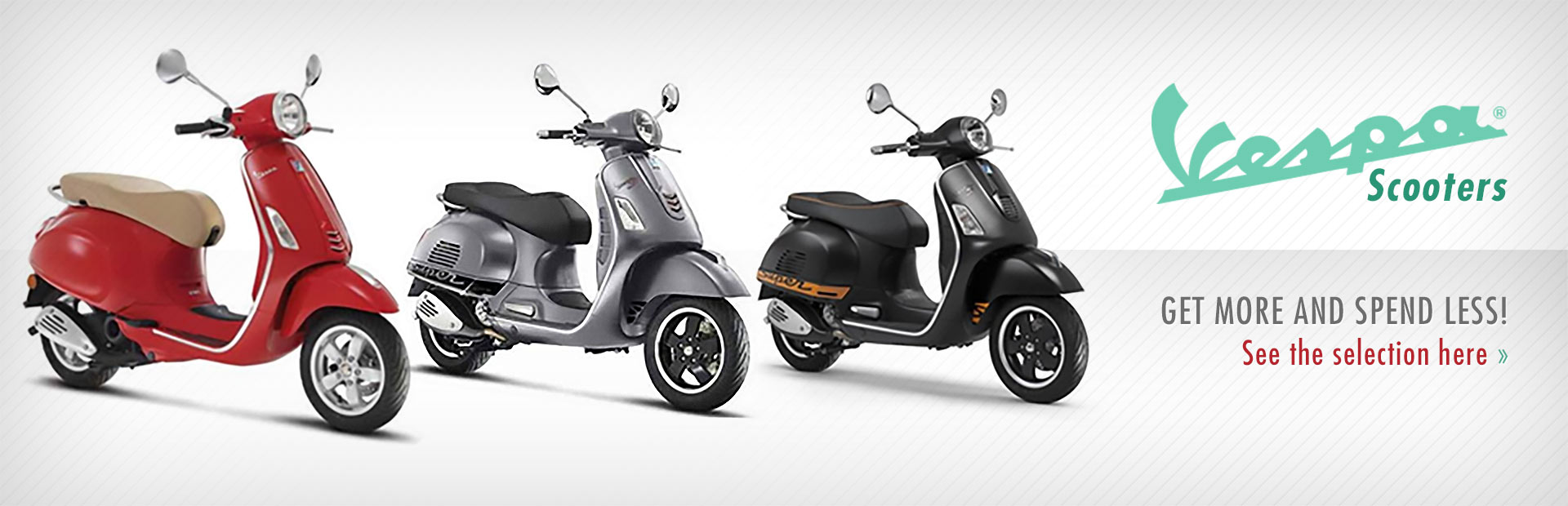 Vespa Scooters: Click here to view the showcase!