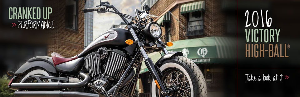 2016 Victory Motorcycles High-Ball®: Click here to view the model.
