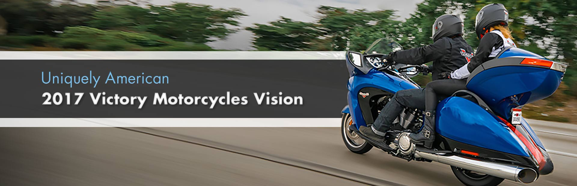 2017 Victory Motorcycles Vision: Click here to view the model.