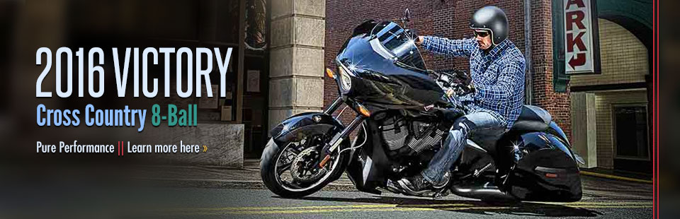 2016 Victory Motorcycles Cross Country 8-Ball: Click here to view the model.