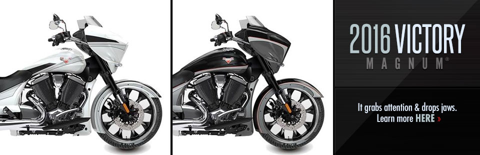 2016 Victory Motorcycles Magnum®: Click here to view the model.