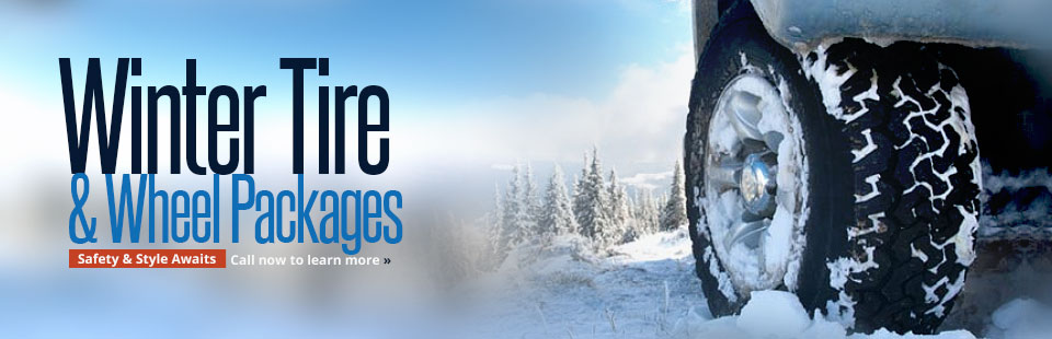 Winter Tire & Wheel Packages Available: Call now to learn more.