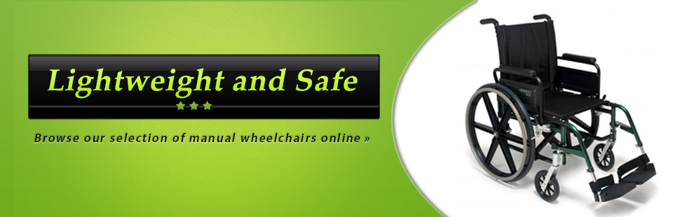 Click here to browse our selection of manual wheelchairs.