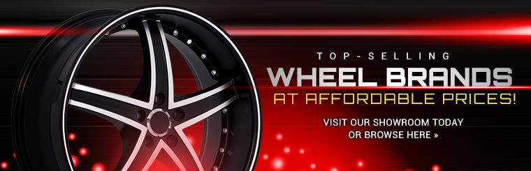 Top-Selling Wheel Brands at Affordable Prices available at Auto Authority in Troy, MO: browse wheels online.