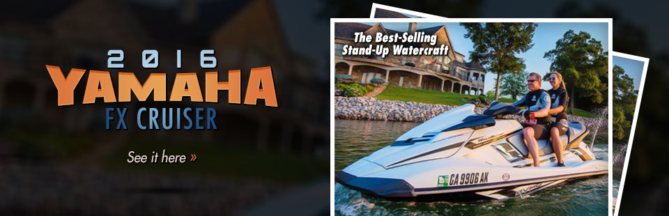2016 Yamaha FX Cruiser: Click here to view the model.