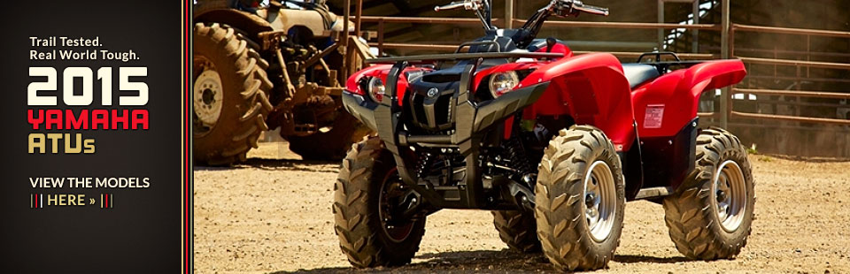 2015 Yamaha ATVs: Click here to view the models.