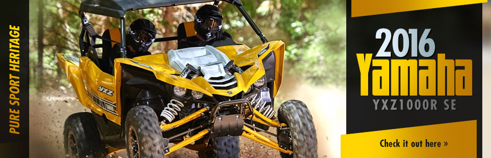 2016 Yamaha YXZ1000R SE: Click here to view the model.