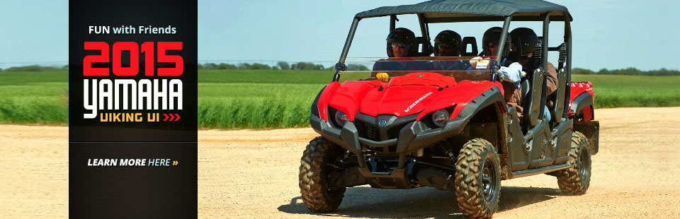 2015 Yamaha Viking VI: Click here for details.