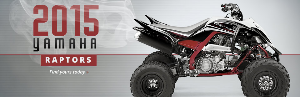 2015 Yamaha Raptors: Click here to find yours today.