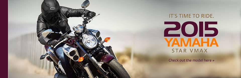 2015 Yamaha Star VMAX: Click here to view the model.