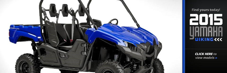 2015 Yamaha Viking: Click here for details.
