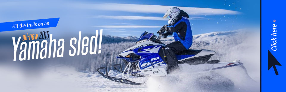 2015 Yamaha Snowmobiles: Click here to view the models.