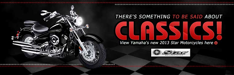 Click here to view the 2013 Yamaha Star motorcycles.