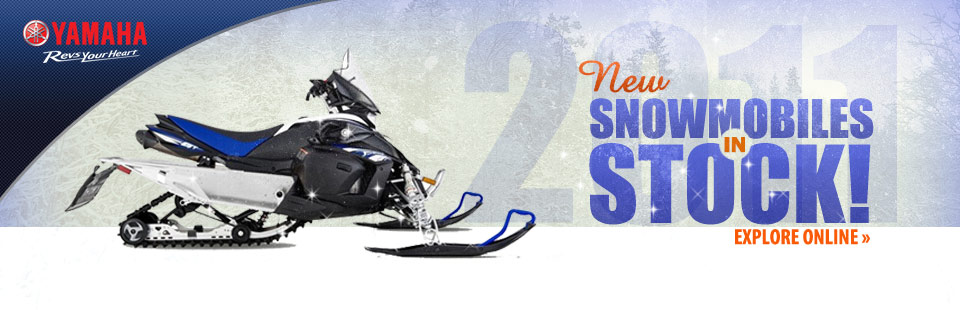 Click here to check out new Yamaha snowmobiles!