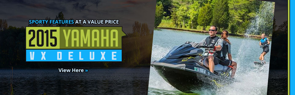 Click here to view the 2015 Yamaha VX Deluxe.