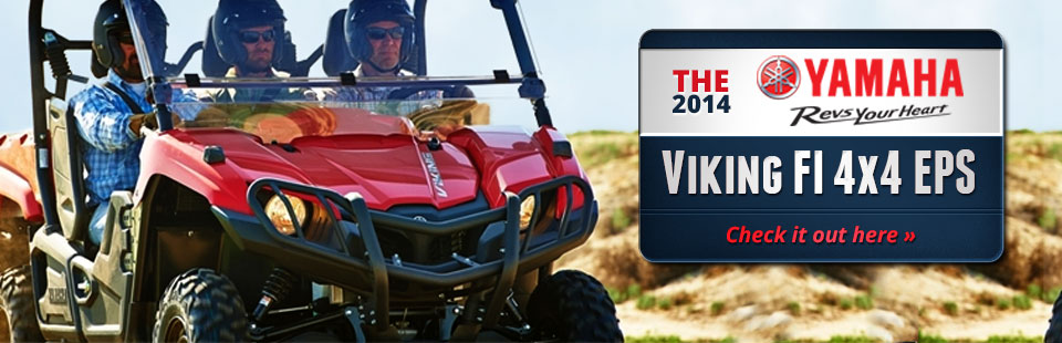 Test ride the all new Viking at Allsport in Liberty Lake. Trades are welcome and we offer easy financing.