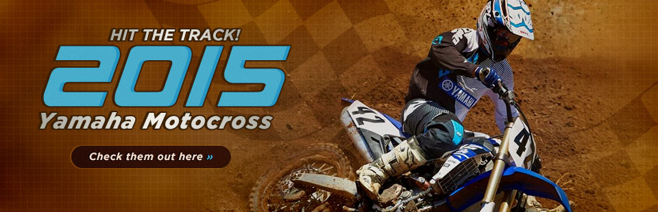 Click here to view the lineup of 2015 Yamaha motocross bikes!