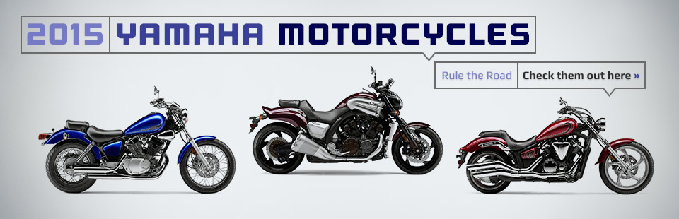 Click here to check out the lineup of 2015 Yamaha motorcycles!