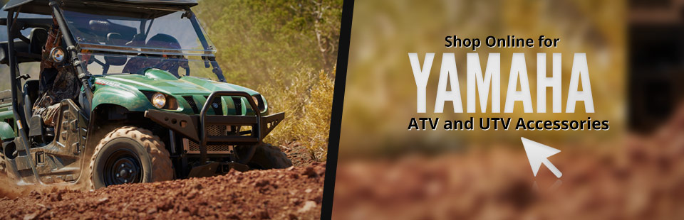 Click here to browse Yamaha ATV and UTV accessories.