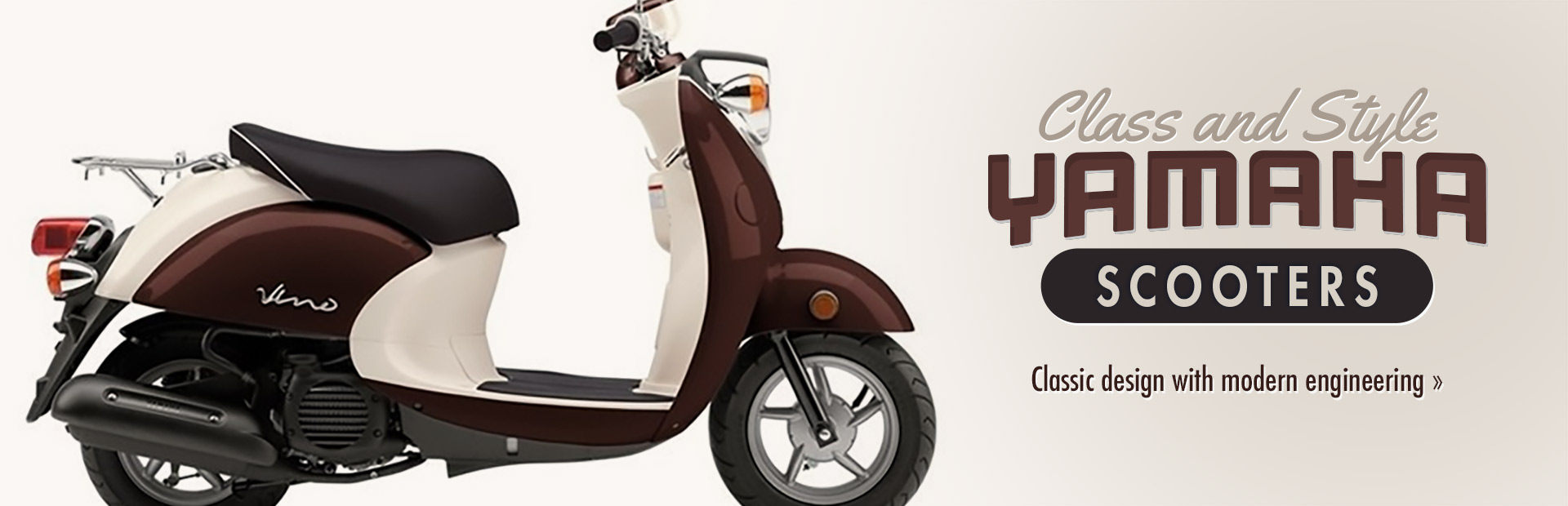 Yamaha Scooters: Click here to view the models.