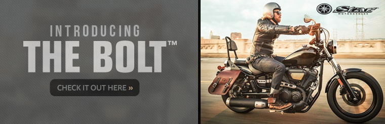 Click here to view the 2014 Star Motorcycles Bolt™.