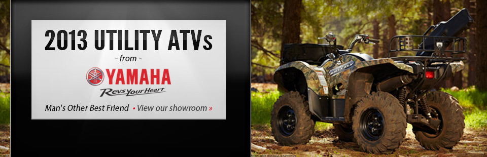 Click here to view 2013 Yamaha utility ATVs.