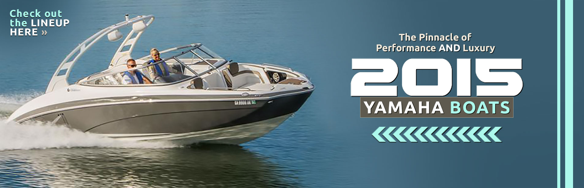 2015 Yamaha Boats: Click here to view the lineup.