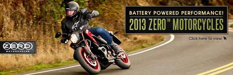 Click here to view 2013 Zero™ motorcycles.