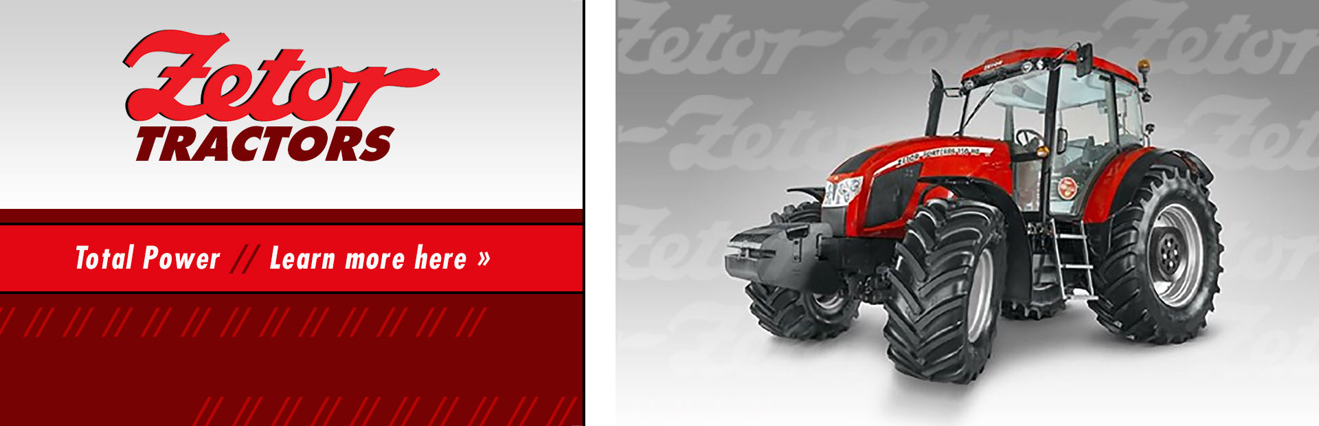 Zetor Tractors: Click here to view our selection!