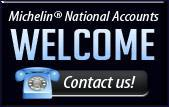 Michelin® National Accounts Welcome. Contact us!