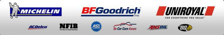 We proudly carry products from Michelin®, BFGoodrich®, Uniroyal®, ACDelco, AMSOil, and BG Products. We are affiliated with NFIB, and Be Car Care Aware. Our technicians are ASE Certified.