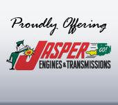 Proudly Offering Jasper Engines