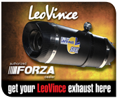 Get your LeoVince exhaust here.