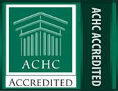 We are ACHC Accredited