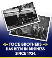 Toce Brothers has been in business since 1924.