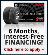 6 Months, Interest-Free Financing!
