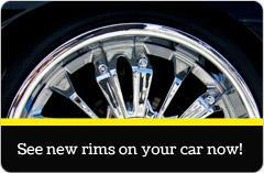 See new rims on your car now!