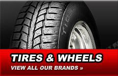 Tires & Wheels: View all our brands.
