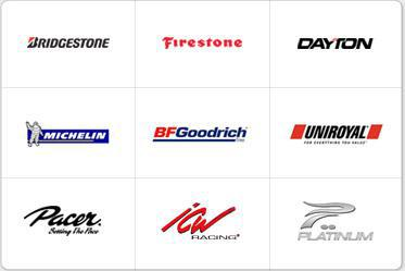We proudly carry products by Bridgestone, Firestone, Dayton, Michelin®, BFGoodrich®, Uniroyal®, Pacer, ICW, and Platinum.