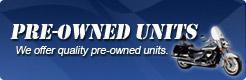 We offer quality pre-owned units.
