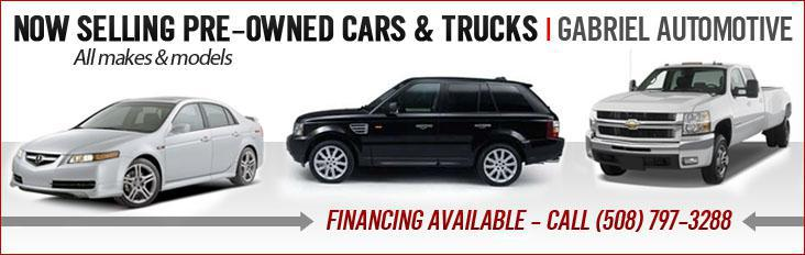 Gabriel Automotive is now selling all makes and models of pre-owned cars and trucks!