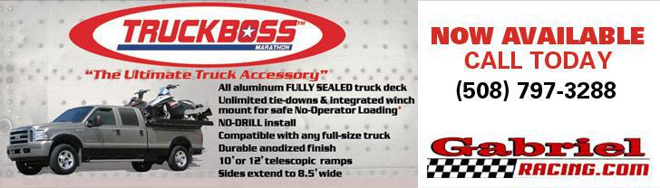 TruckBoss™ by Marathon is now available at Gabriel Racing. Call us at (508) 797-3288.