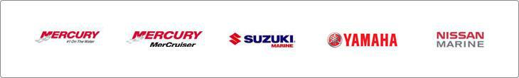 We carry great products from Mercury, Nissan Marine, Suzuki Marine, Yamaha, and MerCruiser.