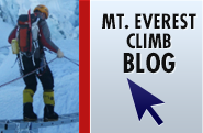 Mt. Everest Climb Blog