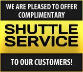 We are pleased to offer complimentary shuttle service to our customers!