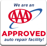 We are an AAA-approved auto repair facility!