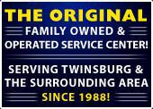 The original family owned & operated service center! Serving Twinsburg & the surrounding area since 1988!
